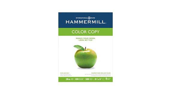 Papier blanc pour copie couleur