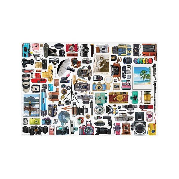 Casse-tête 550 morceaux Appareil photo (métal)
