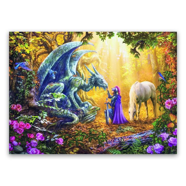 Casse-tête 500 morceaux Le dresseur de dragons