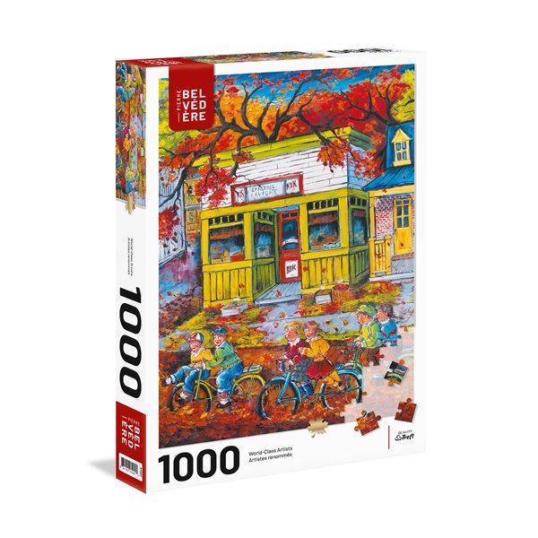 Casse-tête 1000 morceaux La balade en vélo