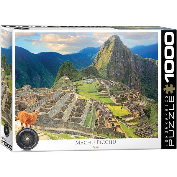 Casse-tête 1000 morceaux Pérou Machu Pichu