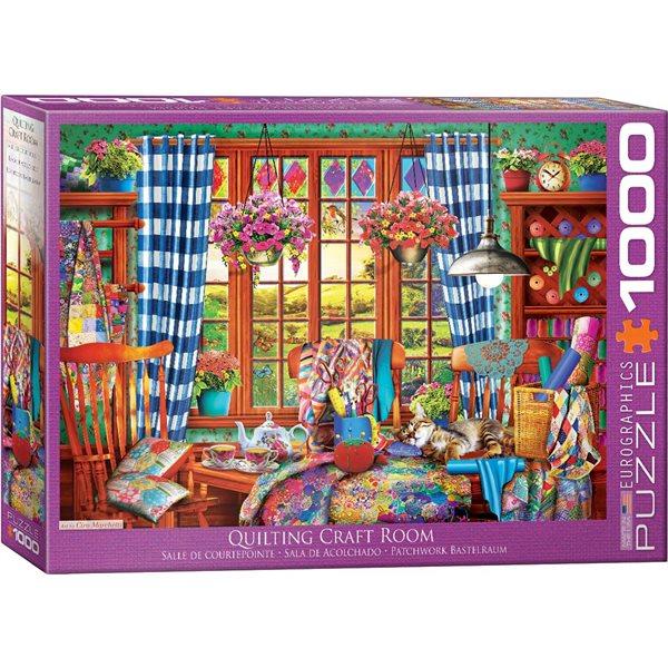 Casse-tête 1000 morceaux Salle d'artisanat