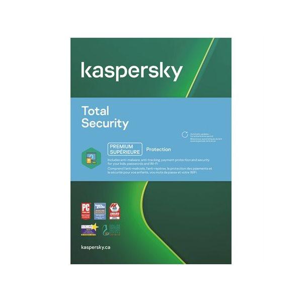 Kaspersky Total Security 5 utilisateurs