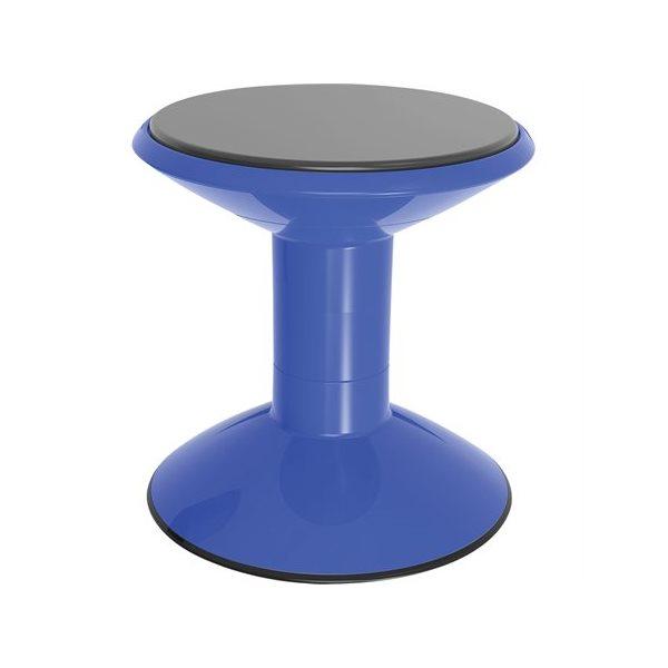 Tabouret ajustable Wobble Bleu