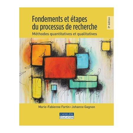 Fondements et étapes du processus de recherche, 3e éd.