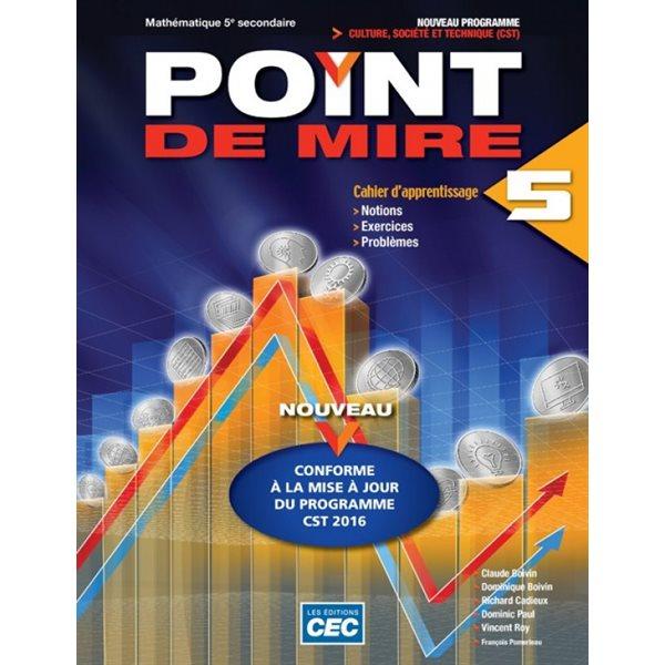 POINT DE MIRE CST CAH. SEC.5 + EXERC INTERACTIFS