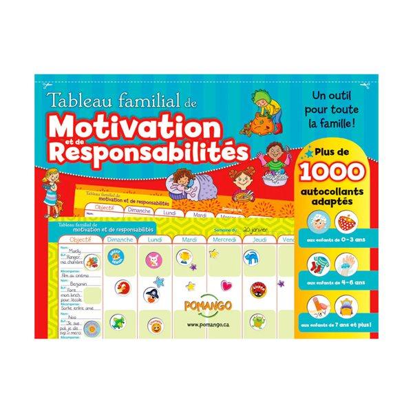 CALENDRIER DE MOTIVATION ET RESPONSABILITES