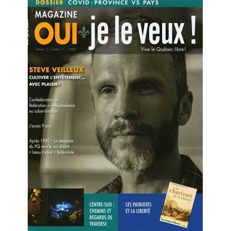 Covid, province versus pays, Tome 1 no 5, Magazine Oui je le veux!