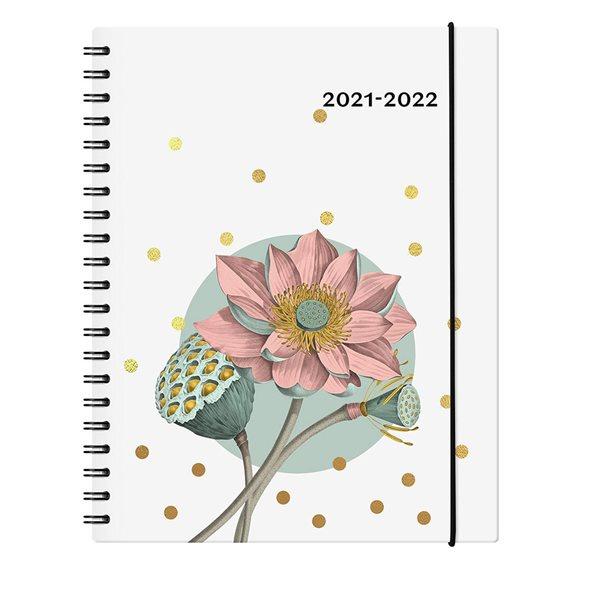 Agenda académique Garbo-E 2021-2022 - Floral