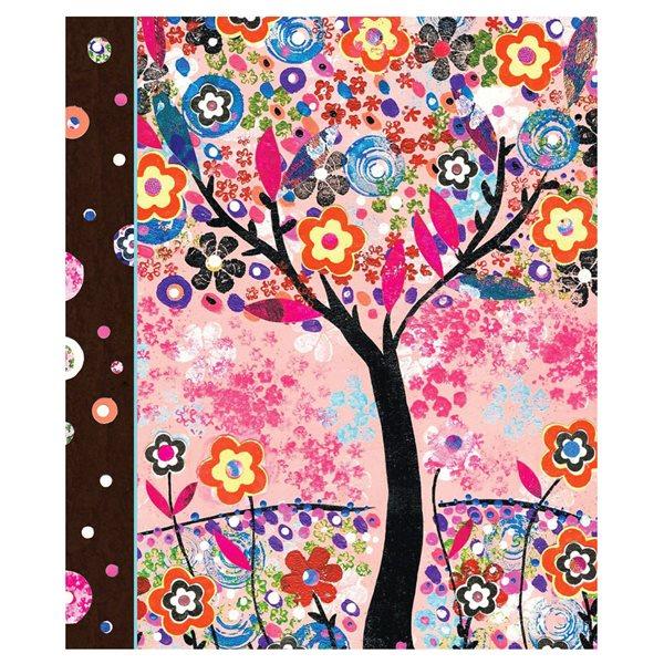 Journal personnel grand format - Arbre en fleurs