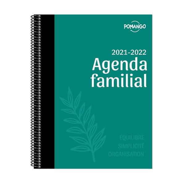 Agenda familial 14 mois 2021-2022
