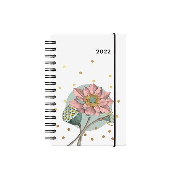 Agenda quotidien W. Maxwell Baro Floral (2022)