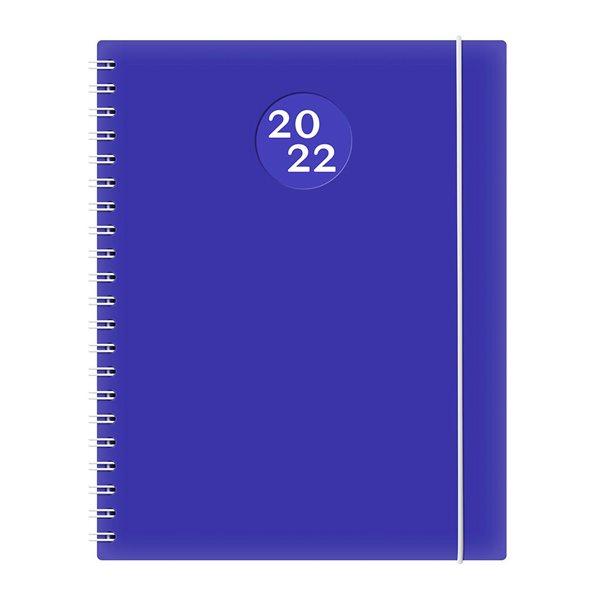 Agenda hebdomadaire W. Maxwell Kibo (2022) - Bleu