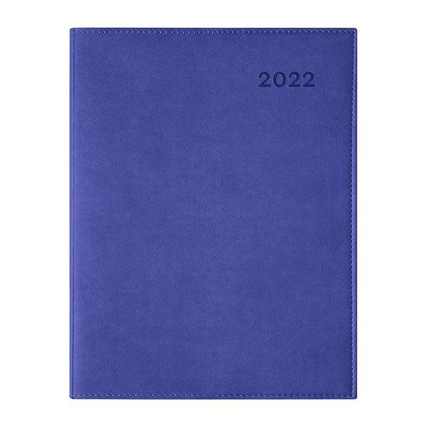 Agenda hebdomadaire W. Maxwell Ulys (2022) - Bleu