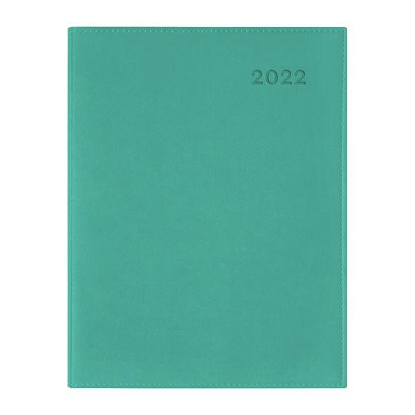Agenda hebdomadaire W. Maxwell Ulys (2022) - Vert