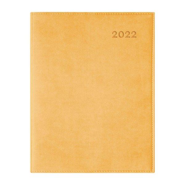 Agenda hebdomadaire W. Maxwell Ulys (2022) - Jaune
