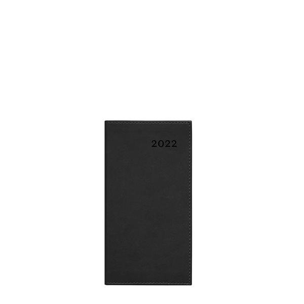 Agenda hebdomadaire W. Maxwell Troi (2022) - Noir