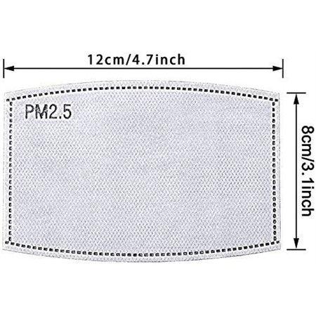 Filtres pour masque PM2.5 (Paquet de 2)
