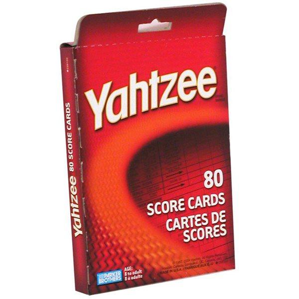 YATHZEE - TABLETTE DE POINTAGE