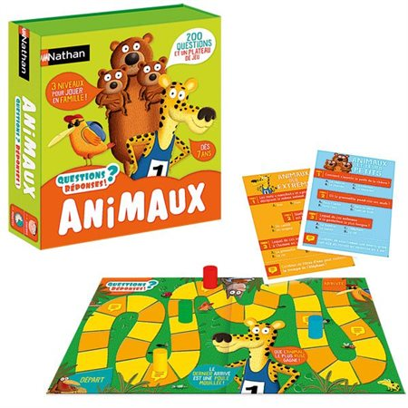 QUESTIONS? REPONSES! ANIMAUX