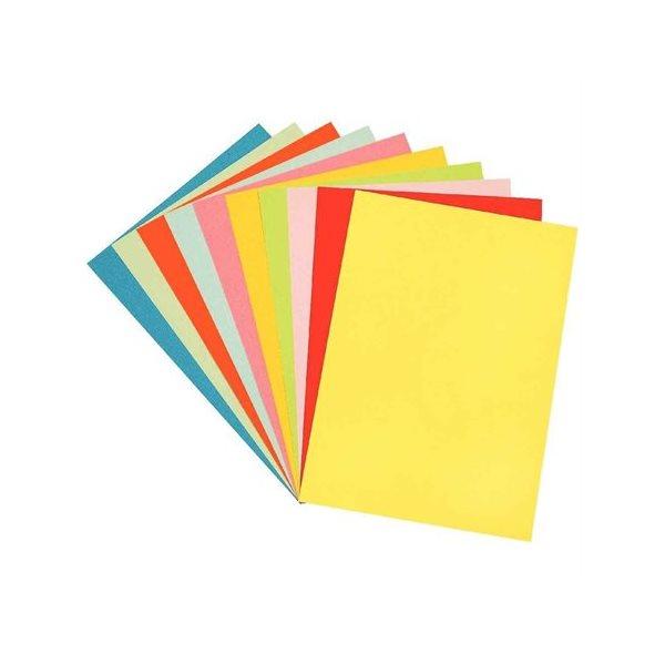 Papier de couleurs variées 250 feuilles