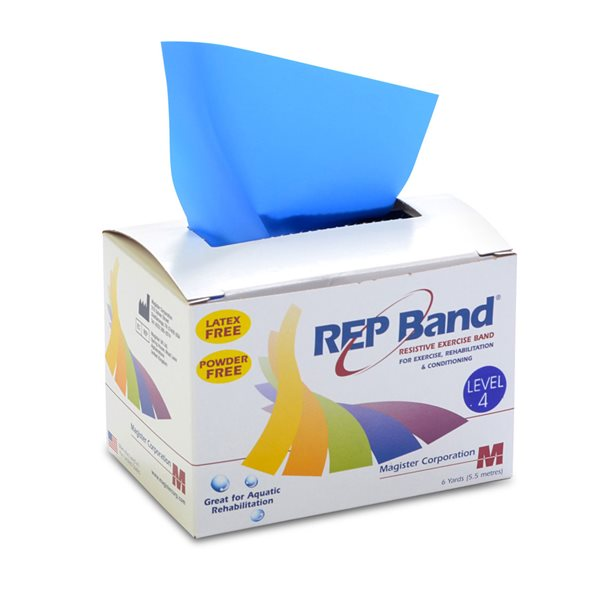 REP BAND SANS LATEX BLEU 5.5M