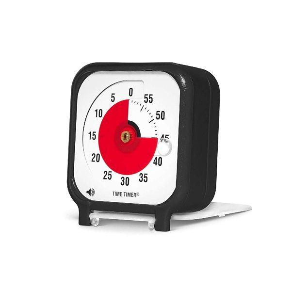 TIME TIMER AVEC OPTION SONORE PETIT 7.5 CM X 7.5 C