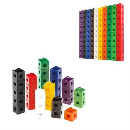 Cubes à relier 2cm (100)