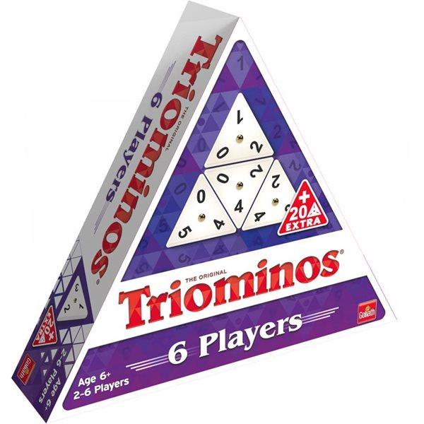 Jeu Triominos 6 joueurs