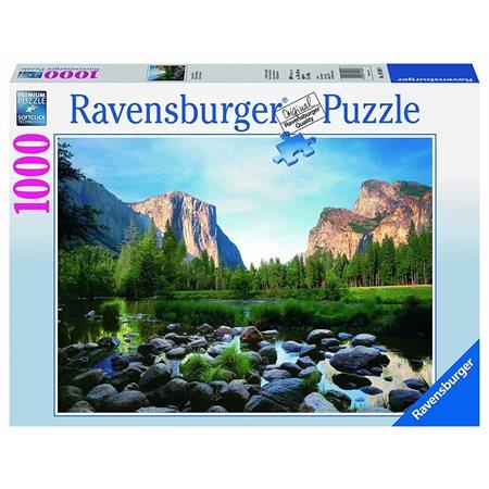 Casse-tête 1000 morceaux Vallée de Yosemite