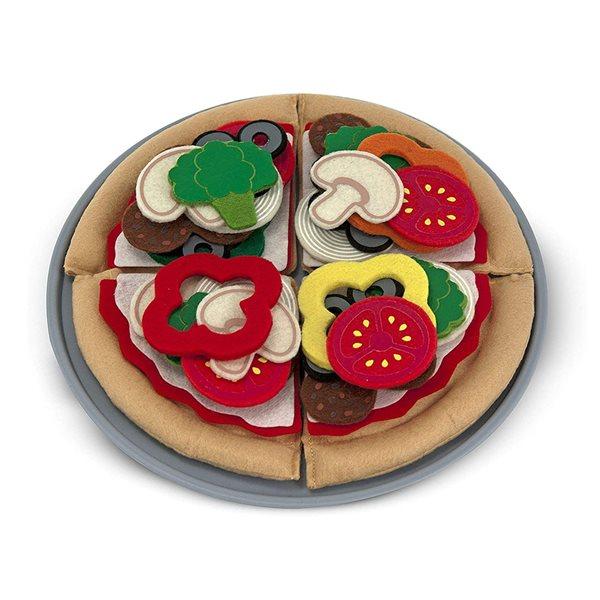 ENSEMBLE PIZZA TISSUS