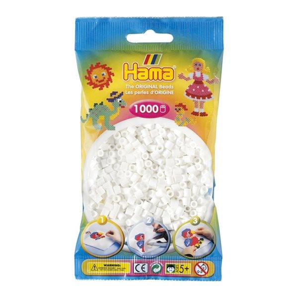 Perles Hama blanc (1000)