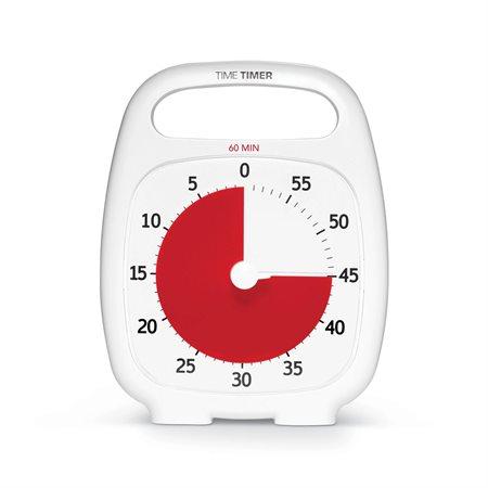 TIME TIMER PLUS 60 MIN BLANC