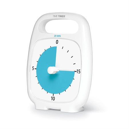 TIME TIMER PLUS 20 MIN BLANC