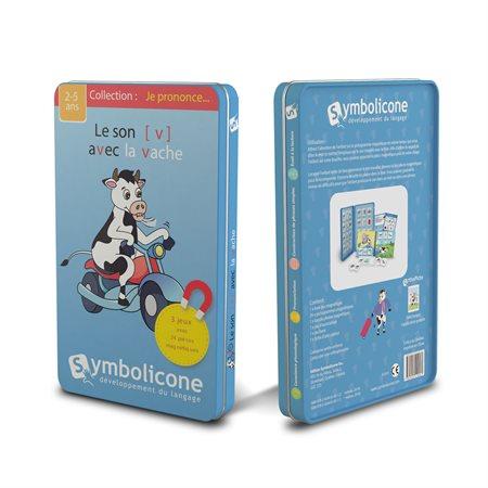 Symbolicone : Le son (v) avec la vache
