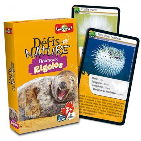 DÉFIS NATURE ANIMAUX RIGOLOS