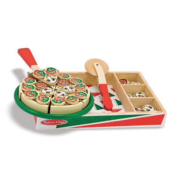 ENSEMBLE PIZZA EN BOIS