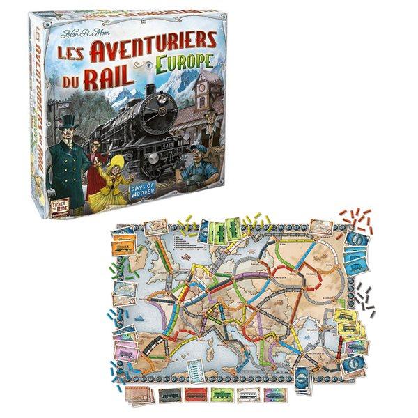 Aventuriers du rail de l'Europe (Les)