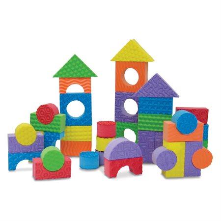 Blocs de construction texturés