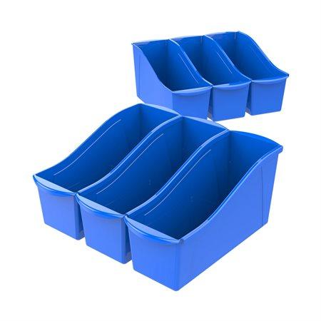 Bac à livres de grand format Bleu