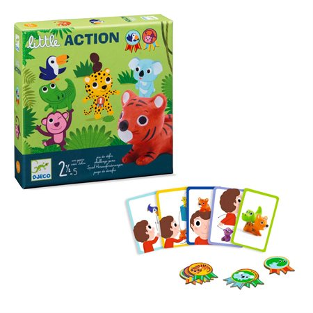 LITTLE ACTION JEU DE DÉFIS