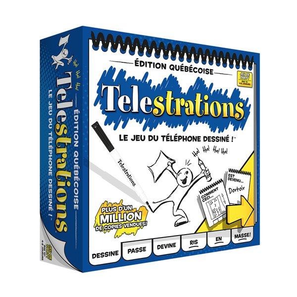 TELESTRATIONS - ÉDITION QUÉBÉCOISE