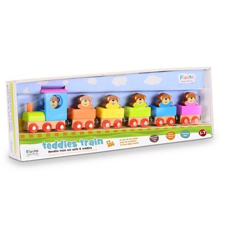 Le train de teddy