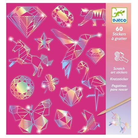 Cartes à gratter- Diamant