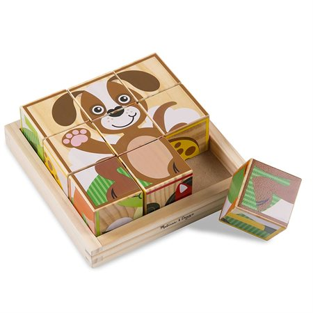9 CUBES ANIMAUX