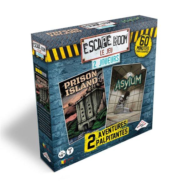 Escape room coffret 2 joueurs (2 scénarios)