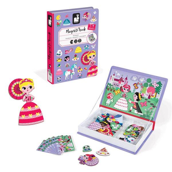 Jeu magneti'Book Princesses