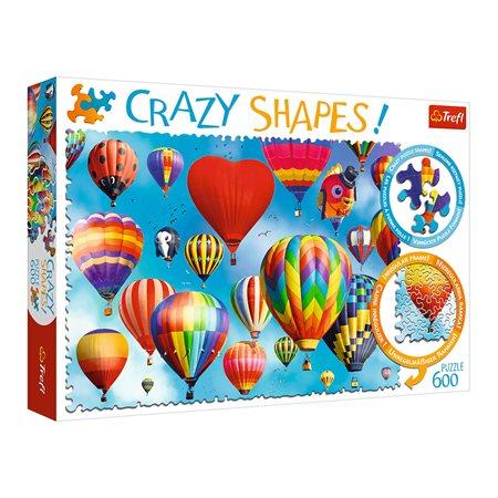 Casse-tête 600 morceaux Ballons colorés
