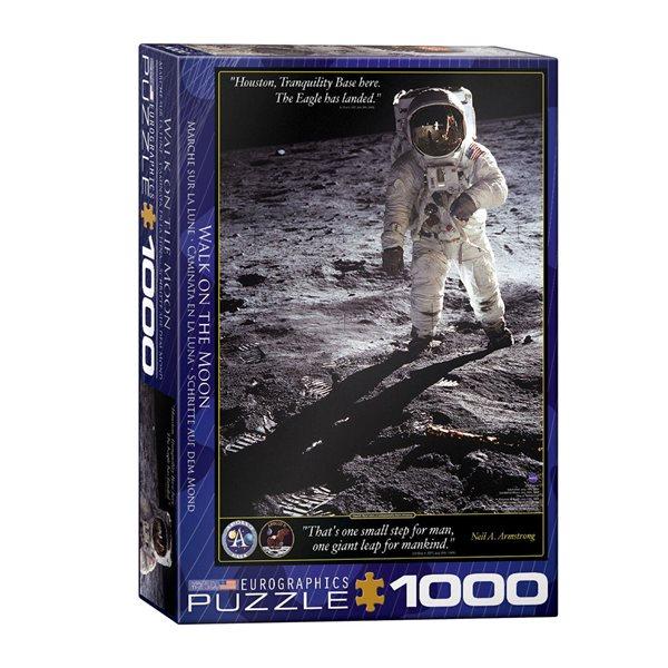 Casse-tête de 1000 morceaux Marche sur la lune
