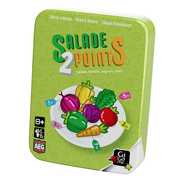 Jeu Salade 2 points
